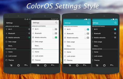 oppo new themes oppo coloros cm11 pa