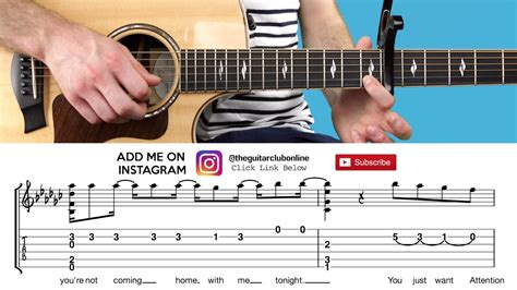 charlie puth guitar chords attention charlie puth fingerstyle guitar lesson