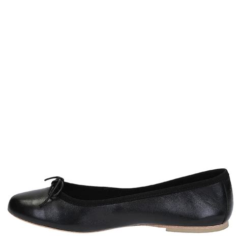 leather flats shoes handmade black soft leather ballet flats ballerinas shoes