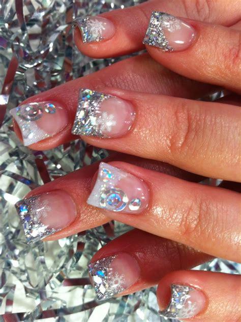 christmas themed nail art designs