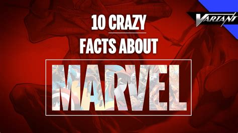 marvel film facts 10 crazy facts about marvel comics youtube