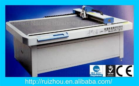 Paper Corrugated Box Machinery - ruizhou cnc corrugated paper cutting table rzcrt 1813