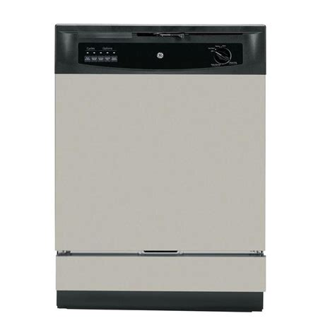 ge front dishwasher in silver gsd3340ksa the