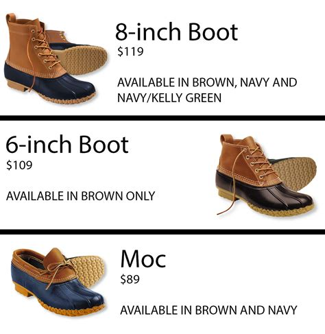 6 inch bean boots guide to buying l l bean boots in the city