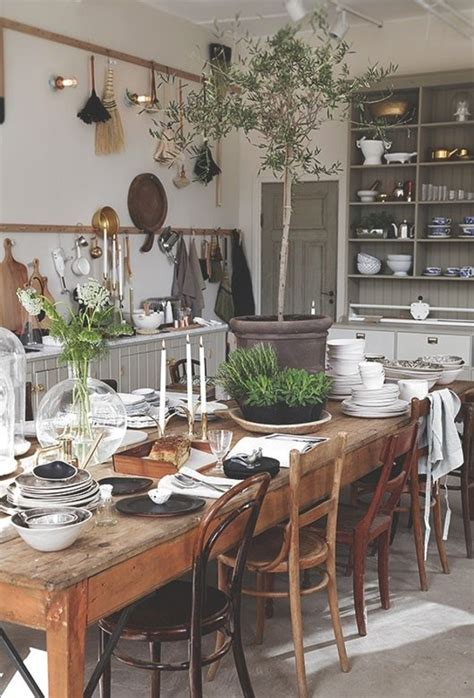 kitchen table decoration ideas country house kitchens 65 beautiful interior design