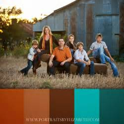 color schemes for family photos the artistry of elizabeth homan fall family portrait