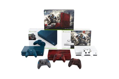 Xbox One S Gears Of War Edition never fight alone with new xbox one s gears of war 4 bundles xbox wire