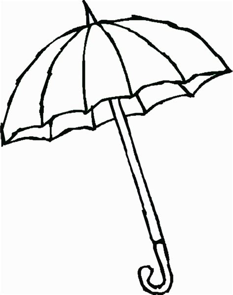 umbrella coloring pages printable umbrella coloring pages for kids coloring home