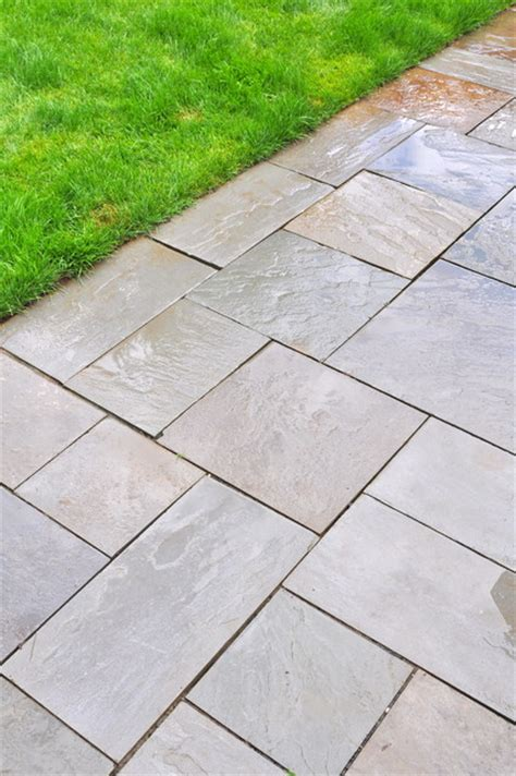 Bluestone Patio Detail Ashlar Pattern Eclectic Bluestone Patio Patterns