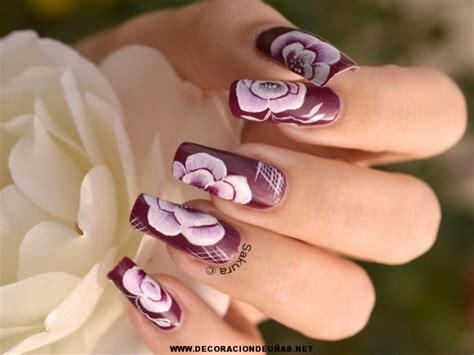 imagenes de uñas con flores lindas u 241 as decoradas con flores bonitas decoraci 243 n de u 241 as te