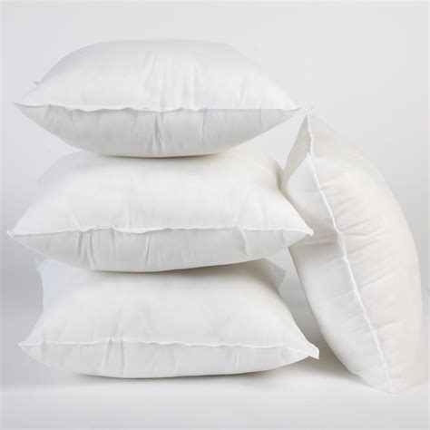 cushion inserts 28 images feather pillows pottery barn