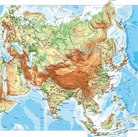 Asiat Gebirge by Diercke Weltatlas Kartenansicht Physische 220 Bersicht