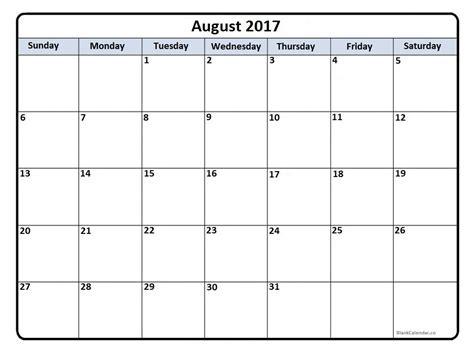 august 2017 calendar calendar august 2017 calendar