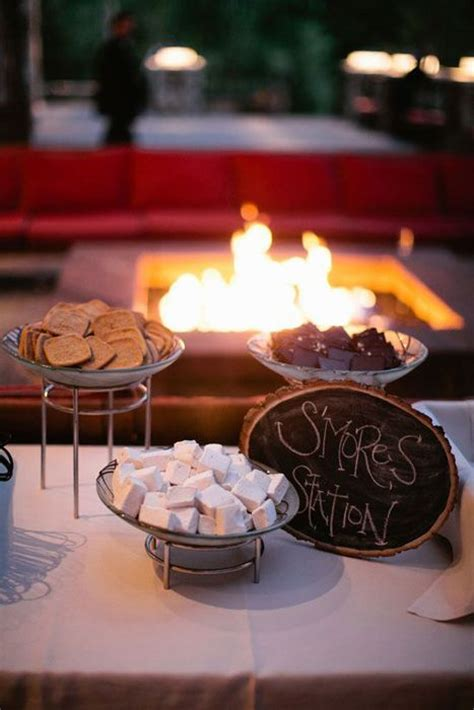 smores at wedding reception creative food stations for your wedding reception crafty