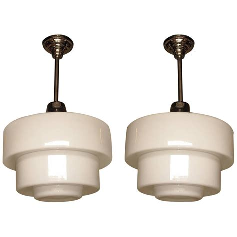 Electric Light Fixtures 1920s Schoolhouse Electric Lighting Fixtures At 1stdibs