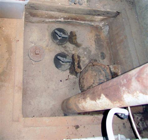 Pit Trap Plumbing by Sewer Access Pit Professionally Installed For Sewer House Trap