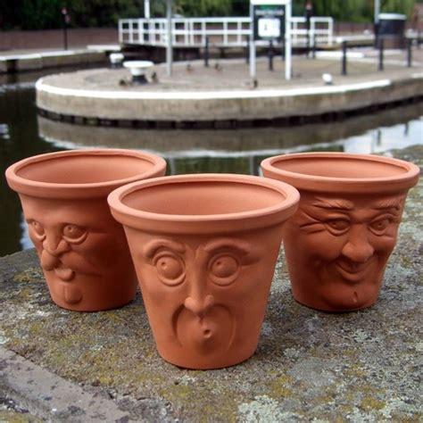 face planters terracotta face pots terracotta uk com the home of uk