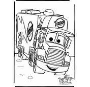 Autos Cars Para Pintar Ni&241os  Dibujos De
