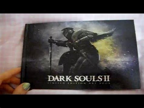 Souls 1 2 Limited Edtion Artbook souls 2 limited edition book page by page