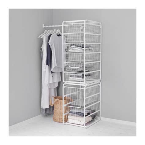Closet Fil A by Algot Frame Wire Baskets Rod
