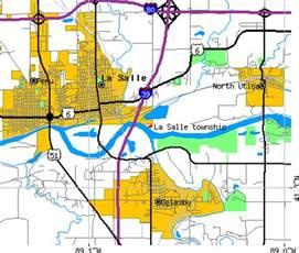 la salle county map la salle township la salle county illinois il detailed