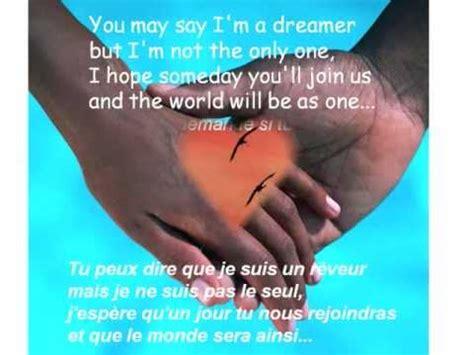 Traduction de Imagine de John Lennon - YouTube