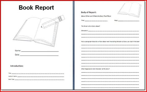 sle book report template book report format 6th grade 28 images best photos of
