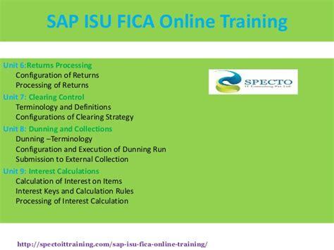 tutorial sap isu sap isu fica online training spectotraining