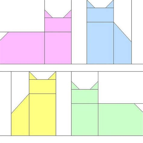 pattern block generator 17 best images about cats on quilts on pinterest cat mug