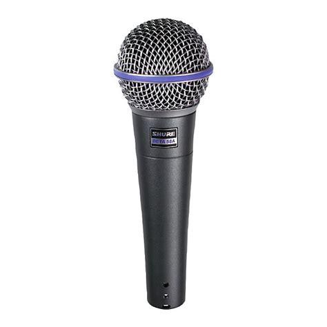 Mic Microphone Kabel Shure Beta 68 Vocal Artis Legendary shure beta 58a supercardioid vocal microphone reverb