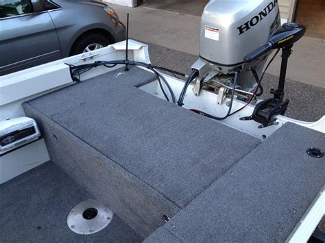 deck your boat bass boat deck extension diy project diy do it your self