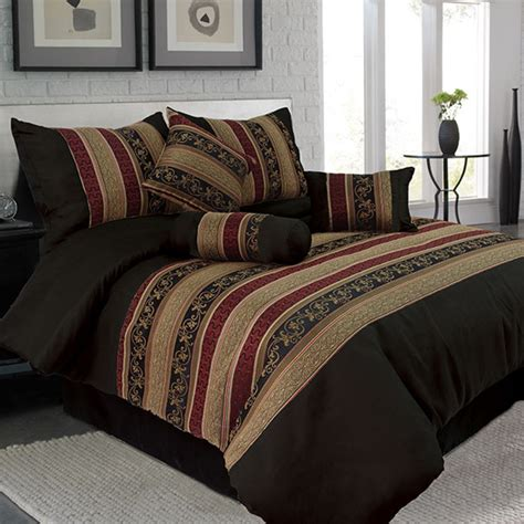 home goods comforter set lavish home 7 piece comforter set