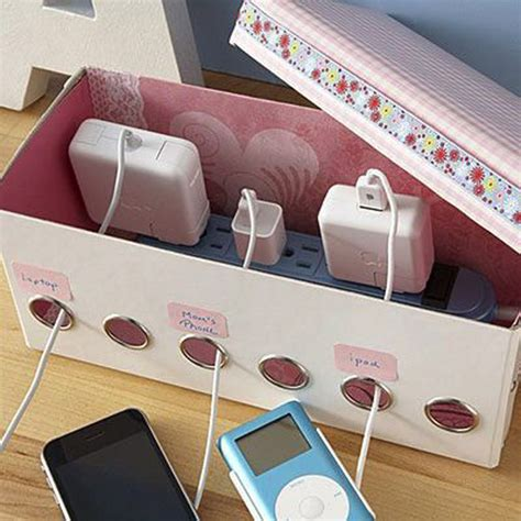 homemade charging station 15 cool and clever diy charging stations house design