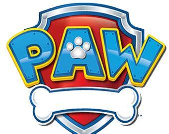 Paw Patrol Birthday Party Badge Pdf File Paw Patrol Logo Template