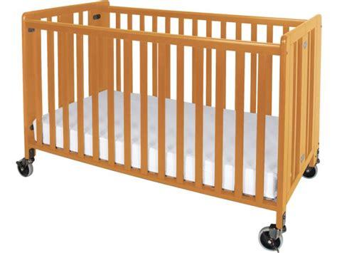 Porta Crib Mattress Size Hideaway Size Folding Crib W Mattress Fnd 650a Daycare Cribs