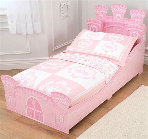 pink toddler bed get peaceful tranquility with wooden toddler bed