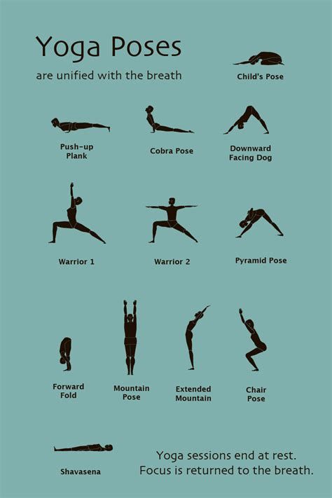 printable images of yoga poses basic yoga poses i need to learn so i can start taking