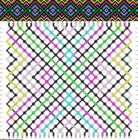 pattern friendship 65390 friendship bracelets net
