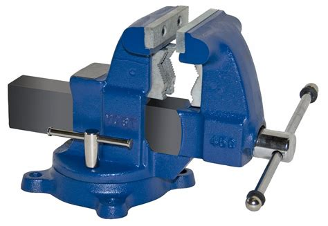 12 bench vise yost vises 45c 4 1 2 quot tradesman combination pipe bench vise swivel base