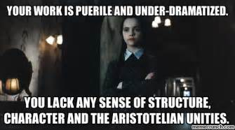 Addams Family Meme - wednesday addams quotes memes quotesgram