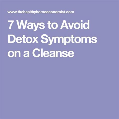 Healthy Detox Symptoms by 25 Best Ideas About Detox Symptoms On Liver