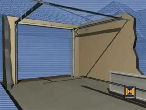 sectional door installation hormann sectional garage door installation guide youtube