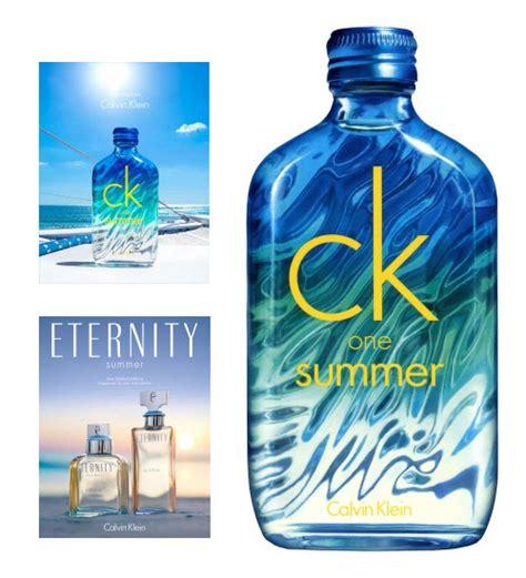 Parfum Calvin Klein One Summer calvin klein summer editions new fragrances