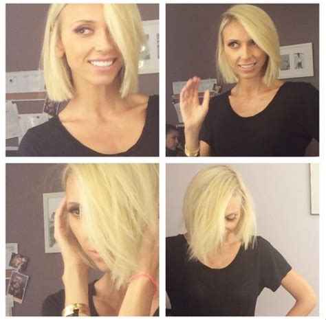 giuliana rancic hair dresser giuliana rancic unveils new blonde hairstyle