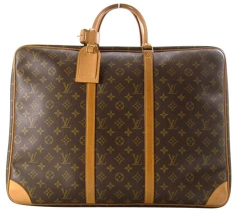 louis vuitton keepall sirius  monogram carry  suitcase