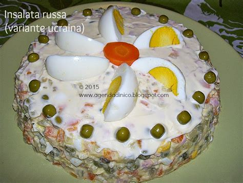 cucina ucraina ricette agenda di nico insalata russa versione ucraina salata