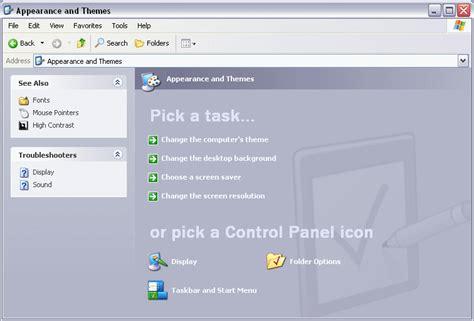 themes com appearance index of img screenshots windows xp controlpanels