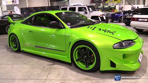 mitsubishi eclipse tuner mitsubishi eclipse exterior and interior walkaround
