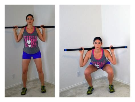 10 weighted bar exercises you can do at home