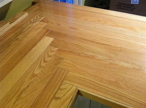 hardwood floor countertop wood floors